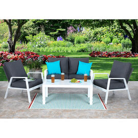 Aluminum Olefin Patio Lounge Set - 4 piece