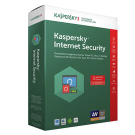 Kaspersky Internet Security 2017 - 3 Devices - 1 Year - 8136019