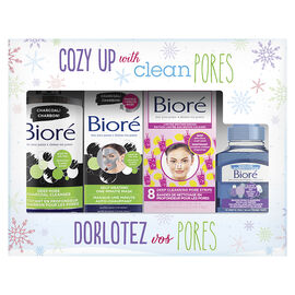 Biore Holiday Gift Pack - 4 piece