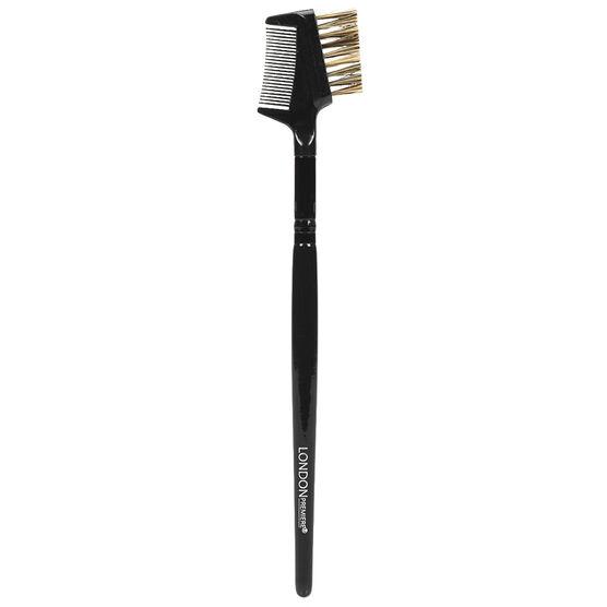 London Premiere Brow Lash Comb and Brush