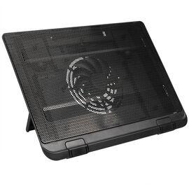 Certified Data Single Fan Laptop Cooler - Black - HY-CF-6533