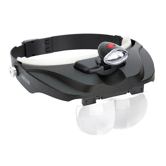 Carson CP-60 LED Visor Magnifier - CP-60