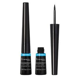 Rimmel Exaggerate Waterproof Liquid Eyeliner - Black