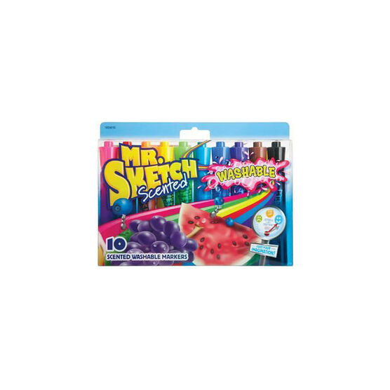 Mr. Sketch Scented Markers - Washable - 10 pack