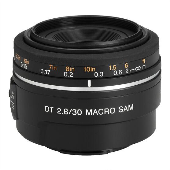 Sony 30mm F2.8 Macro DT Lens - SAL30M28 - Open Box Display Model