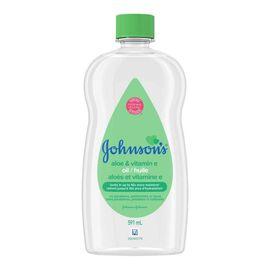 Johnson & Johnson Baby Oil with Aloe Vera & Vitamin E - 591ml