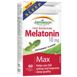 Jamieson Melatonin Max - 10mg - 60's