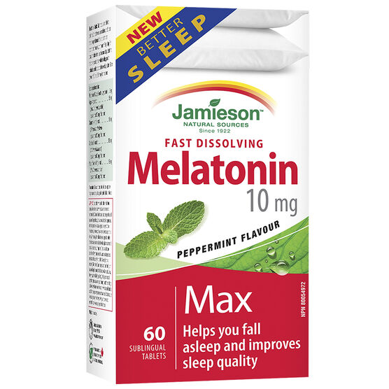 Jamieson Melatonin Max - 10mg - 60's