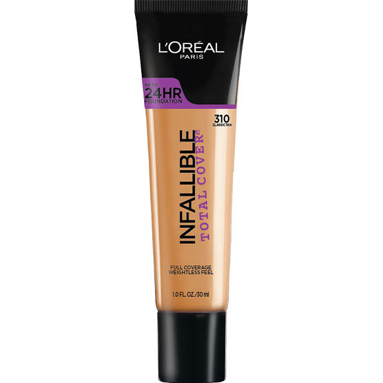 L'Oreal Infallible Total Cover Foundation - Classic Tan