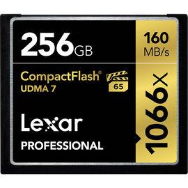 Lexar Professional 1066x Compact Flash Card - 256GB - LCF256CRBNA1066