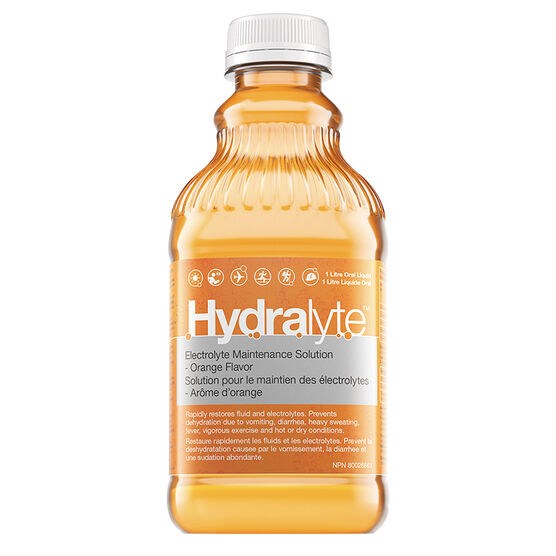 Hydralyte Ready to Use Electrolyte Solution - Orange - 1L