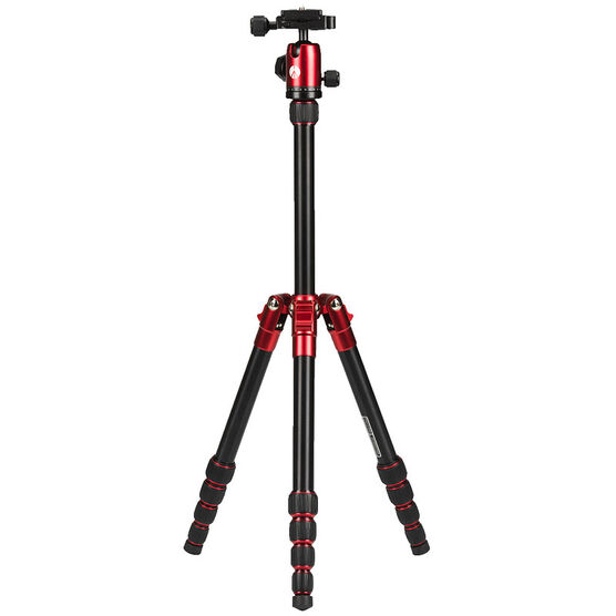 Manfrotto Element Small Tripod Kit with Ball Head - Red - MKELES5RDB
