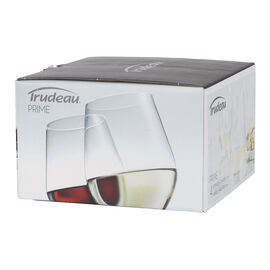 Trudeau Prime Stemless Wine Glasses - 12oz/4 pack