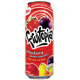Fruitopia - Strawberry Passion Fruit - 695ml