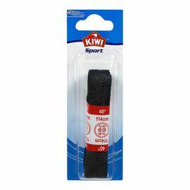 Kiwi Flat Sport Laces - 45 inch - Black