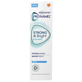 Sensodyne ProNamel Strong & Bright Toothpaste - Mint - 65ml