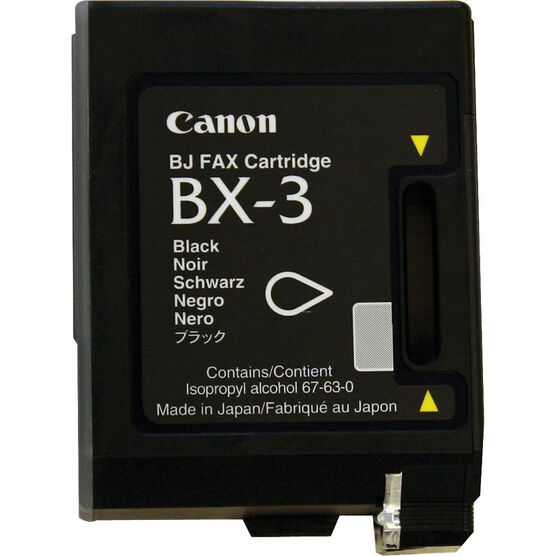 Canon BX-3 Ink Cartridge - Black - 0884A003