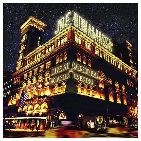 Joe Bonamassa - Live at Carnegie Hall: An Acoustic Evening - Vinyl