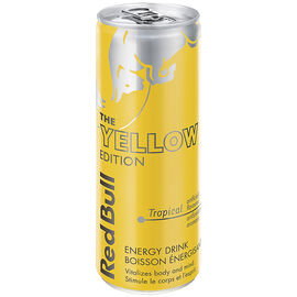 Red Bull Summer Edition Energy Drink - Yellow - 250ml