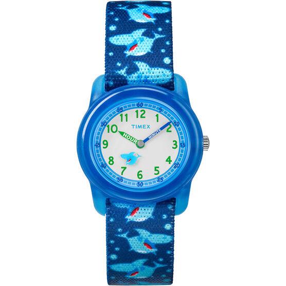 Timex Kids Analogue Watch - Blue - TW7C135002Y
