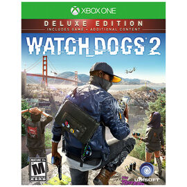 Xbox One Watch Dogs 2 Deluxe Edition