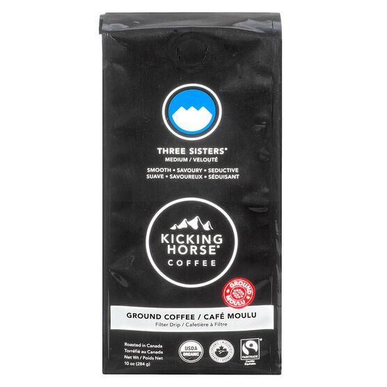 Kicking Horse Coffee Three Sisters - Medium Roast - Ground - 284g