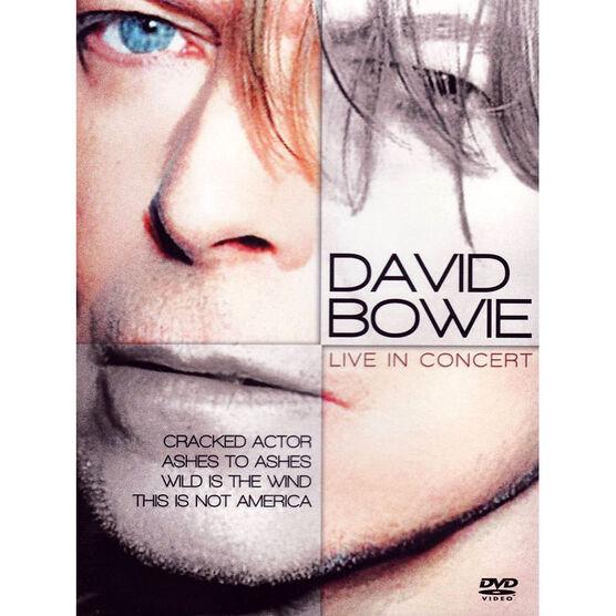 David Bowie: Live in Concert (1990) - DVD