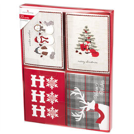 American Greetings Christmas Cards - Mini Up 2 - Assorted - 20 count
