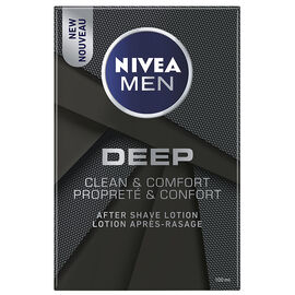 Nivea Men Deep After Shave Lotion - Clean & Comfort - 100ml