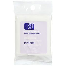 Clean & Clear Makeup Dissolving Facial Cleansing Wipes - 7's