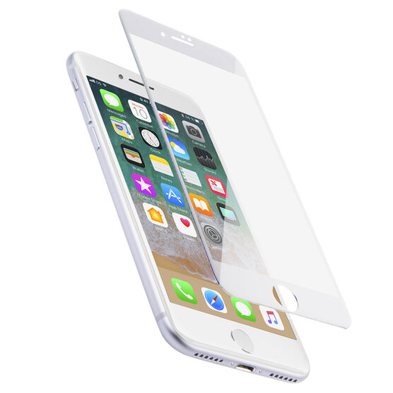 Logiix Phantom Glass Arc for iPhone 7 Plus - White Frame - LGX12380