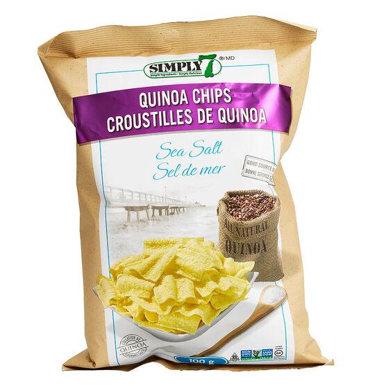 Simply 7 Quinoa Chips - Sea Salt - 100g