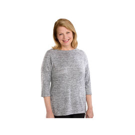 Silvert's Women's Open Back Sweater Knit Top - 2XL - 3XL