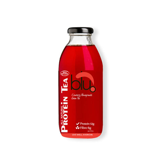 Blu-Dot Protein Tea - Cranberry Pomegranate - 473ml