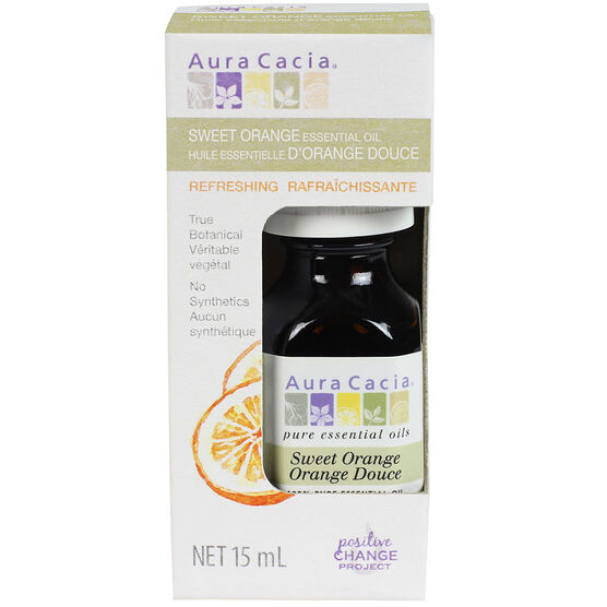 Aura Cacia Essential Oil - Sweet Orange - 15ml
