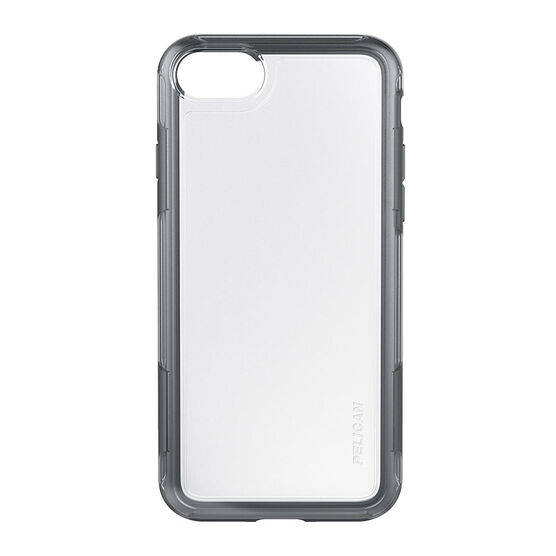 Pelican Adventure Case for iPhone 7 - Clear/Grey - PNIP7ADVCLGR