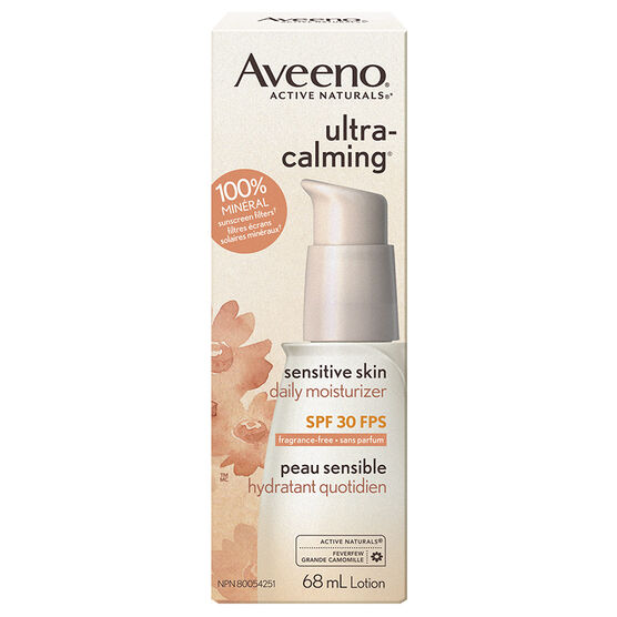 Aveeno Active Naturals Ultra Calming Daily Moisturizer - SPF 30 - 68ml