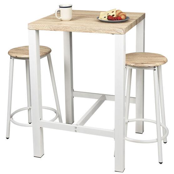 London Drugs Breakfast Table Set - White