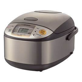 Zojirushi Rice Cooker - Brown - 5.5 cups - NS-TSC10
