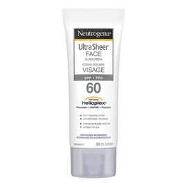 Neutrogena Ultra Sheer Face Sunscreen Lotion - Water Resistant - SPF 60 - 88ml