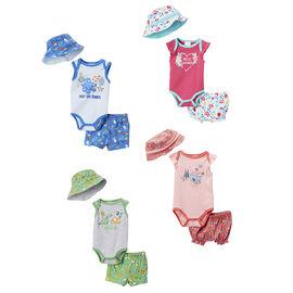 Baby Mode - 3-Piece Sunhat Set - 12-24 months - Assorted