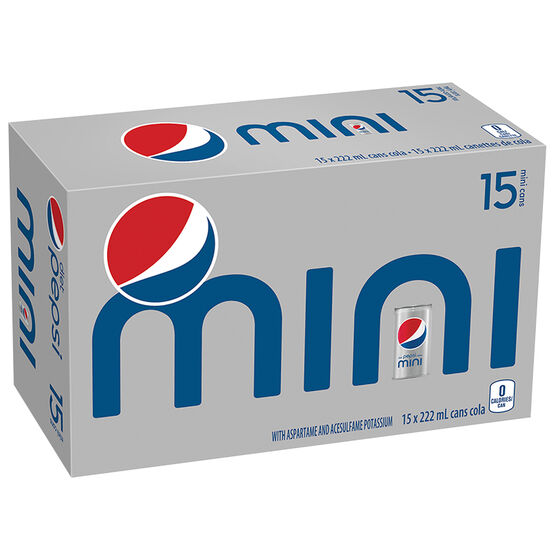 Pepsi Mini - Diet - 15x222ml