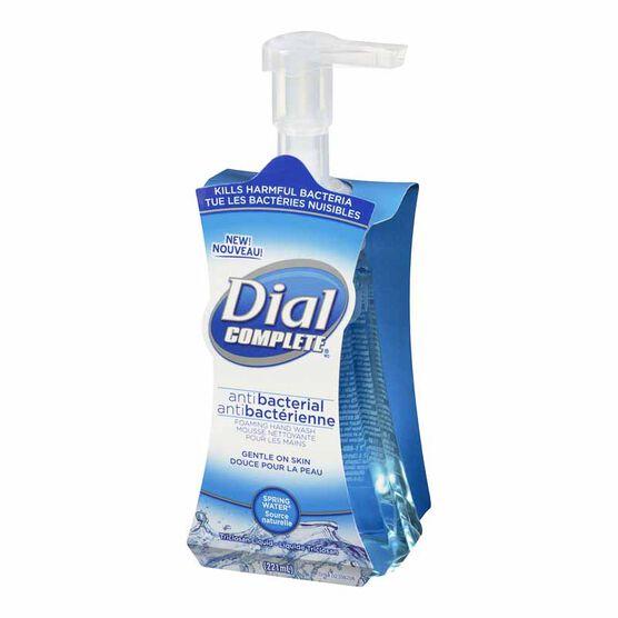 Dial Complete Antibacterial Foaming Hand Wash - Spring Water - 221ml