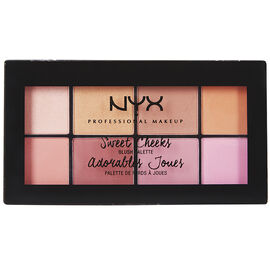 NYX Professional Makeup Sweet Cheeks Blush Palette - Sweet Cheeks