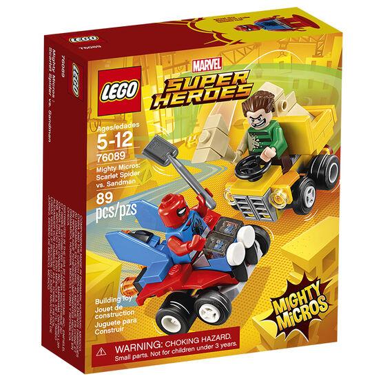 LEGO Marvel Super Heroes - Mighty Micros Scarlet Spider vs. Sandman