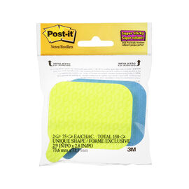 "3M Post it Though Bubble Sticky Notes - 3"" x 3"""