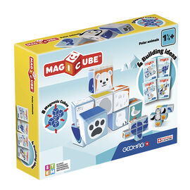 Geomag Magicube Polar Animals - 8 Piece