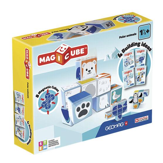 Geomag Magicube Polar Animals - 8 Piece