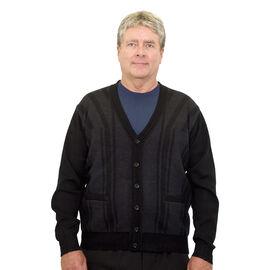 Silvert's Men's Cardigan Knit Sweater