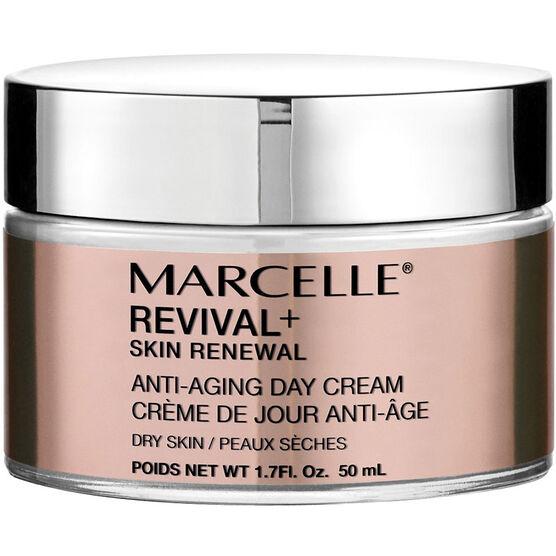 Marcelle Revival+ Skin Renewal Anti-Aging Day Cream Dry Skin - 50ml